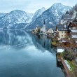Stock Photo: Hallstatt winter view (Austria)
