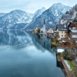 Hallstatt winter view (Austria) — Foto de stock #36789469