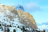 Paysage de montagne belle hiver. — Photo