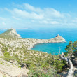 Coastline of Novyj Svit summer view (Crimea, Ukraine) — Stock Photo #37443003