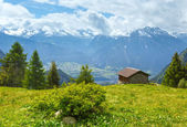 Summer mountain landscape (Alps, Switzerland) — 图库照片