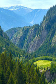 Summer mountain landscape (Alps, Switzerland) — ストック写真