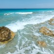 Stock Photo: Lefkadcoast summer beach (Greece)