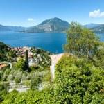 Lake Como summer view (Italy) — Stock Photo
