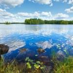 Lake Rutajarvi summer view (Finland). — Stock Photo #41178759