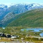 Summer mountain (Norway) — Stock Photo