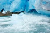 Nigardsbreen Glacier (Norway) — Stock Photo