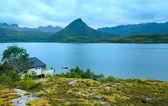 Lofoten summer view (Norway). — Stock Photo