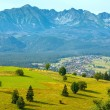 Summer mountain village view (Poland) — Stock Photo #42514711