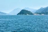 Lake Como (Italy) summer coast. — Стоковое фото