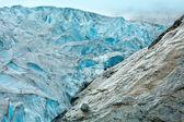 View to Nigardsbreen Glacier (Norway) — Stock Photo