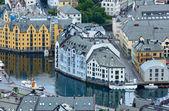 Alesund town (Norway) — Foto de Stock