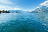 Lake Como (Italy) view from ship — Photo
