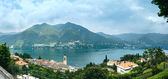Lake Como (Italy) summer panorama. — Stock Photo