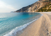 Myrtos Beach (Greece,  Kefalonia, Ionian Sea). — Stock Photo