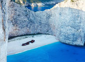 Navagio 湾 (扎金索斯,希腊) — 图库照片