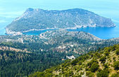 Summer view of Assos peninsula (Greece,  Kefalonia). — Stock Photo