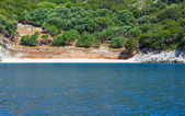 Summer Kefalonia coast view (Greece) — Stock Photo
