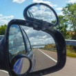 Reflection of sky with clouds in mirror. — Stock Photo #51315425