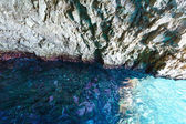 The Blue Caves in Zakynthos (Greece) — Stock Photo