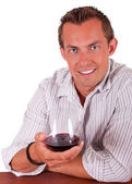 Attactive young man — Stock Photo
