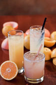 Citrus cocktails — Stock Photo