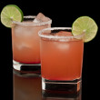 Pink cocktails — Stock Photo