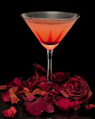 Romance and Cocktails — Stock Photo