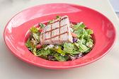 Yellow fin tuna salad — Stock Photo