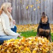 Stock Photo: Autumn Fun