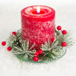 Royalty-Free Stock Photo: Holiday candle