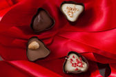 Artisian chocolates — Stock Photo
