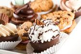 Dessert tray — Stock Photo