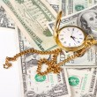 Time and money — Stock Photo #19954743