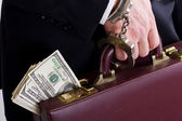 Corrupt business — Stock Photo