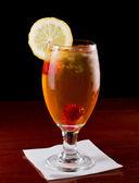 Raspberry Iced Tea — Stock Photo