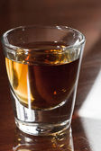 Whisky shot — Stock Photo