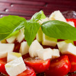 Caprese salad — Stock Photo #22198199