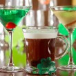 Irish drinks - Stock Photo