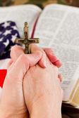 American faith — Stock Photo