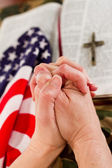 American faith — Stock Photo