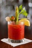 Bloody mary cocktail — Stock Photo