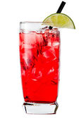 Vodka and cranberry or cape cod — Стоковое фото