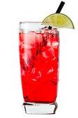 伏特加和蔓越莓或鳕鱼角 — 图库照片