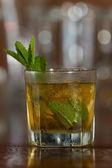 Mint julep cocktail — Stock Photo