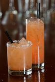 Grapefruit cocktails — Stock Photo
