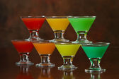 Rainbow shots — Stock Photo