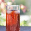 Back yard ice tea — Stock Photo #27002549