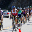 Coeur d' Alene Ironman cycling event — Stock Photo