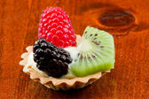 Crostate di frutta fresca mini — Foto Stock